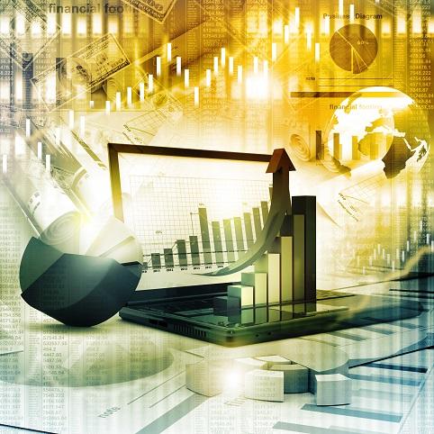 economic forecast graphic