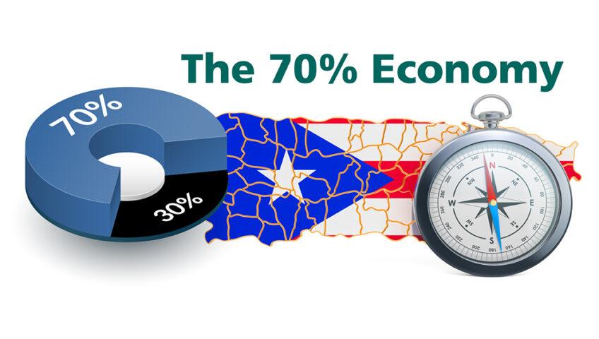 The 70% economy of Puerto Rico